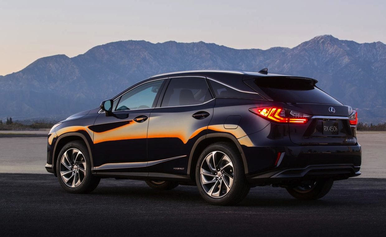 all new 2016 lexus rx officially revealed performancedrive. Black Bedroom Furniture Sets. Home Design Ideas
