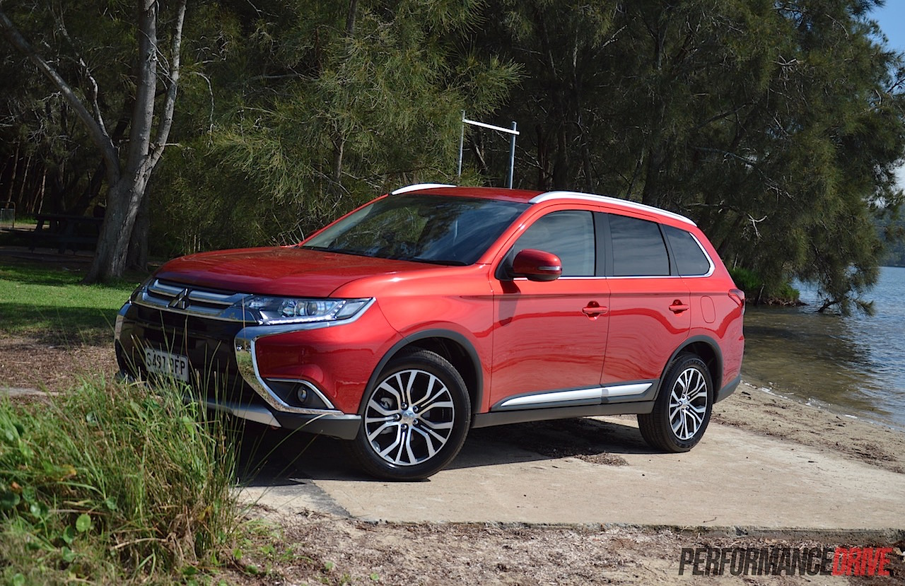 Cool 2016 Mitsubishi Outlander Review  Australian Launch