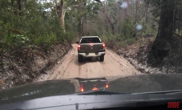2016 Mitsubishi Triton-off road