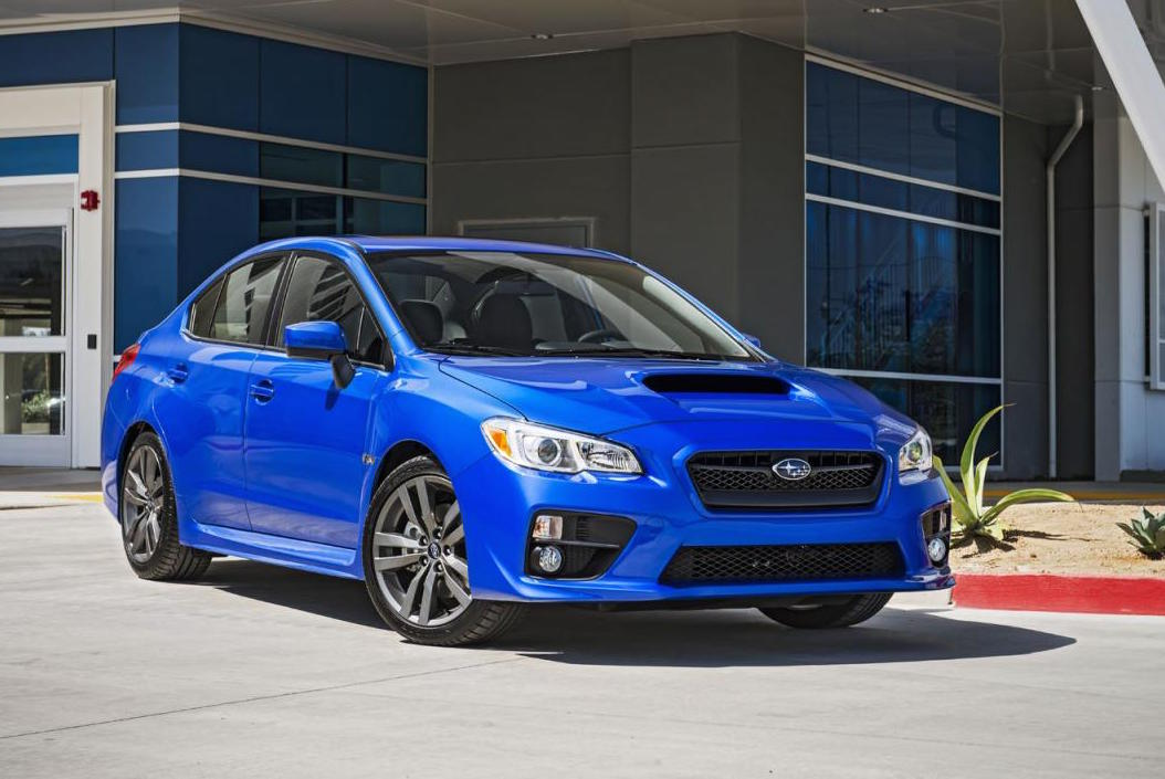 2016 subaru wrx wrx sti revealed new in car tech performancedrive. Black Bedroom Furniture Sets. Home Design Ideas