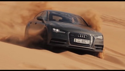 Audi A7 Sportback sand in Dubai