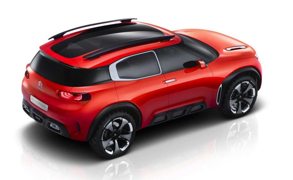 citroen aircross concept revealed potential future suv. Black Bedroom Furniture Sets. Home Design Ideas