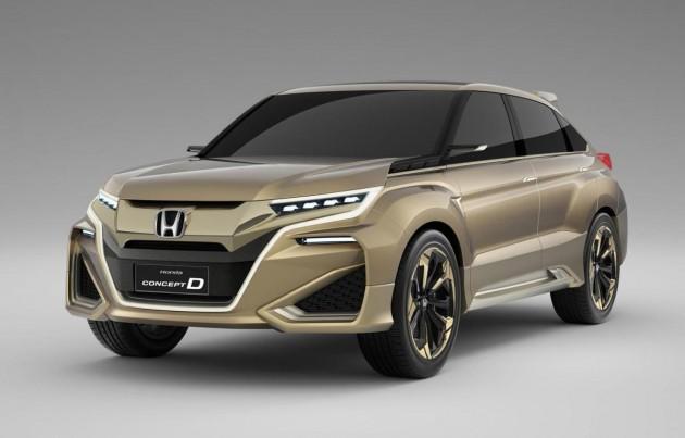 Honda Concept D-China