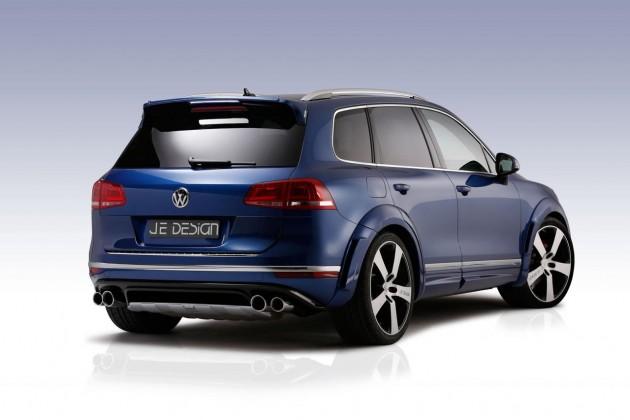 JE Design 2015 VW Touareg V8 TDI-rear