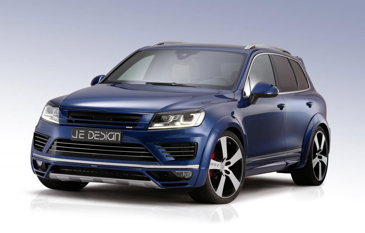 je design tunes new vw touareg v8 tdi torque monster