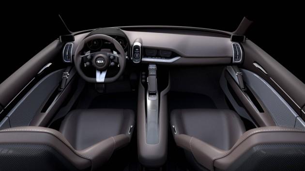 Kia Novo concept-interior