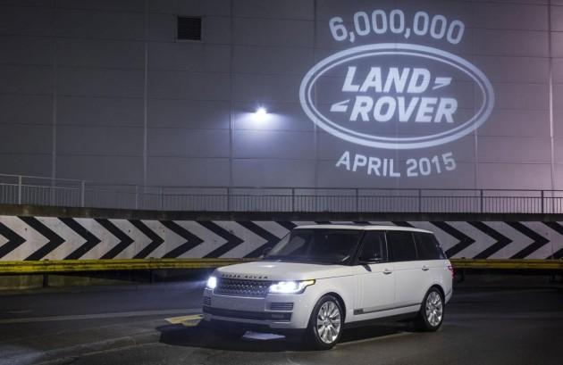 Land Rover 6 million