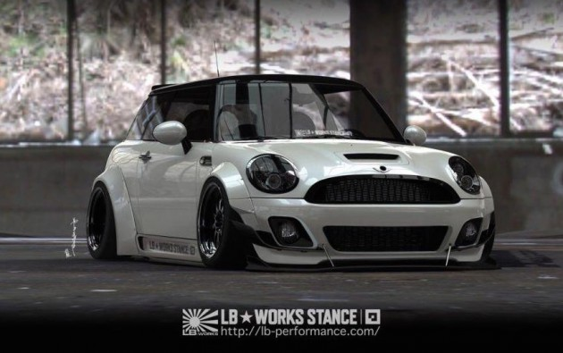 Liberty Walk MINI Cooper S