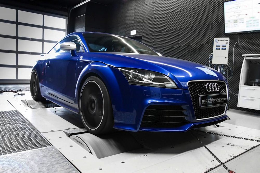 audi tt rs tuning kit by mcchip dkr boosts power to 348kw performancedrive. Black Bedroom Furniture Sets. Home Design Ideas