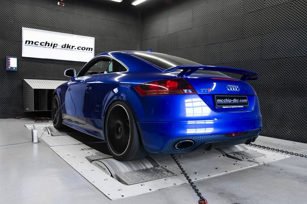 audi tt rs tuning kit by mcchip dkr boosts power to 348kw. Black Bedroom Furniture Sets. Home Design Ideas