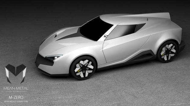 Mean Metal Motors M-Zero-concept