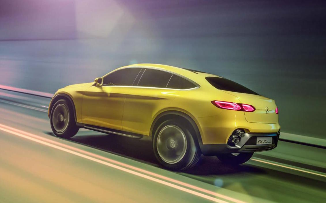 mercedes benz glc coupe officially revealed performancedrive. Black Bedroom Furniture Sets. Home Design Ideas
