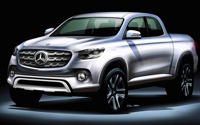 New mercedes benz pickup could be offered in the usa for Mercedes benz offers usa