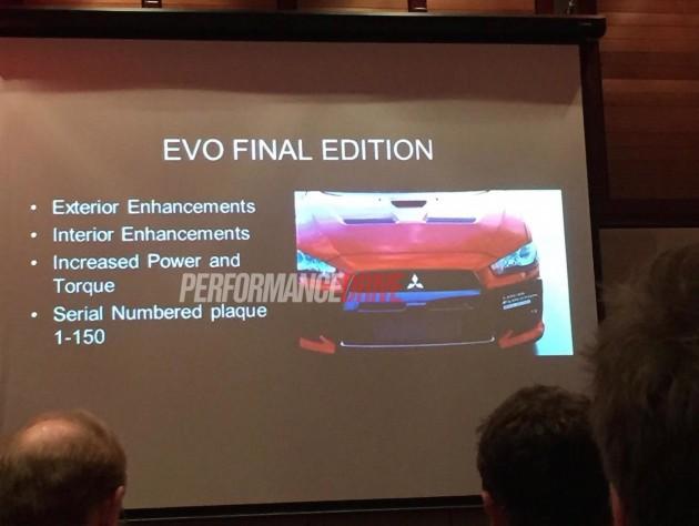 Mitsubishi Lancer Evolution X Final Edition-Australia