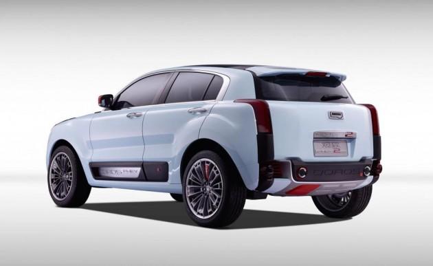 Qoros 2 PHEV concept-rear