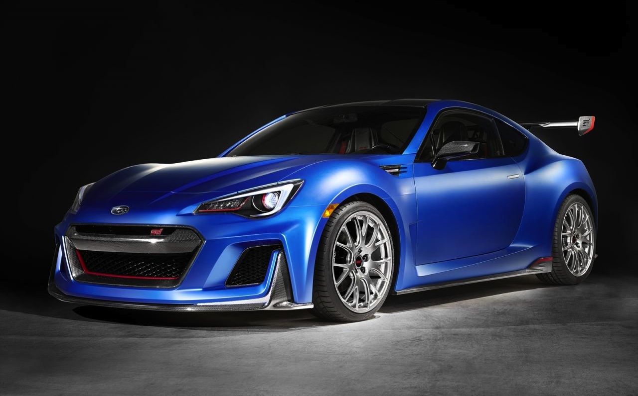 subaru unveils racy brz sti performance concept performancedrive. Black Bedroom Furniture Sets. Home Design Ideas