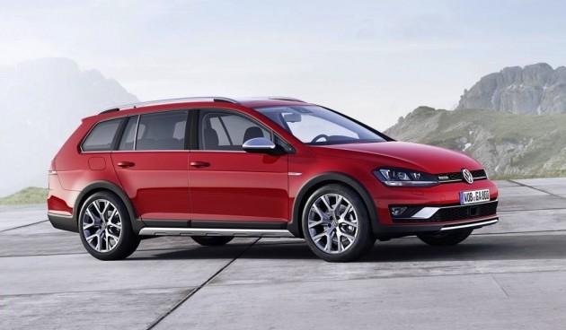 Volkswagen SportWagen Alltrack