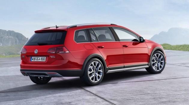 Volkswagen SportWagen Alltrack-rear
