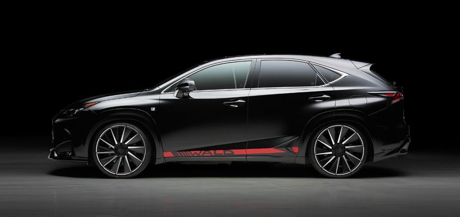 Wald International Develops Sharp Cosmetic Kit For Lexus