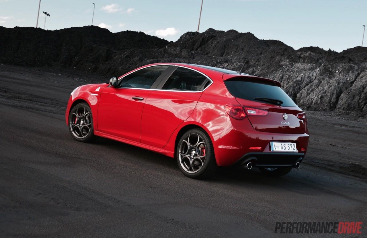 2015 Alfa Romeo Giulietta QV review video  PerformanceDrive