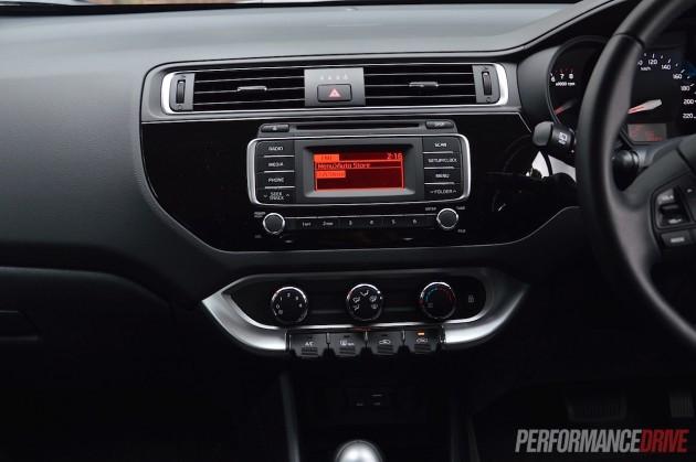 2015 Kia Rio S Premium-audio