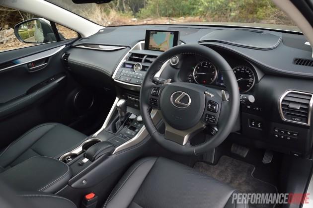 2015 Lexus NX200t-interior