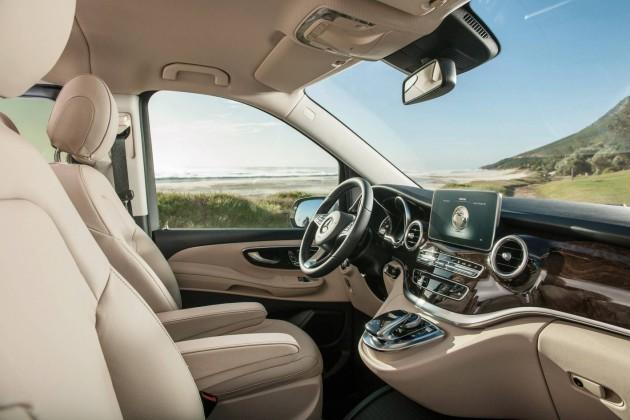 2015 Mercedes-Benz V 250 BlueTec-interior