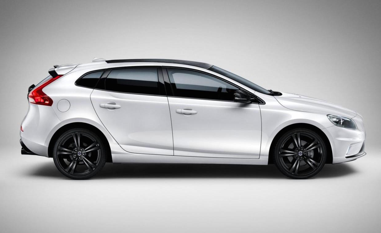 volvo v40 carbon edition announced with polestar tuning performancedrive. Black Bedroom Furniture Sets. Home Design Ideas