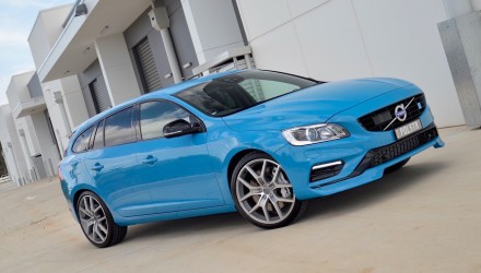 2015 Volvo V60 Polestar-Rebel Blue