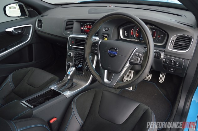 2015 Volvo V60 Polestar-interior