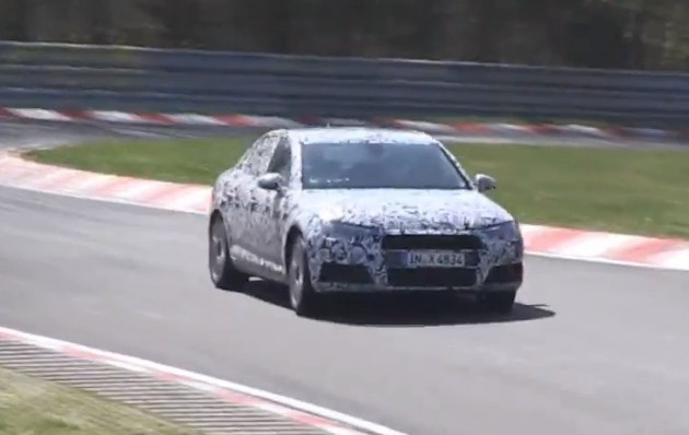 2016 Audi A4 B9 prototype