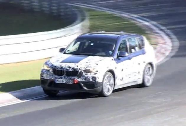 2016 BMW X1 prototype