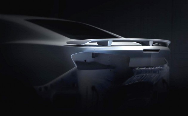 2016 Chevrolet Camaro rear spoiler