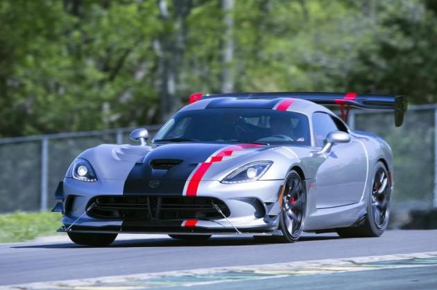 2016 Dodge Viper ACR-track