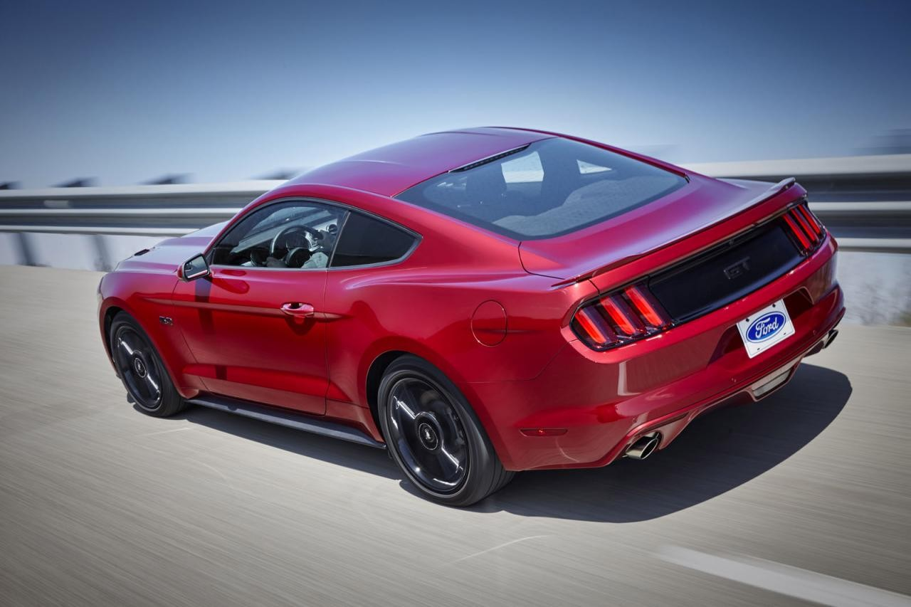 2016 ford mustang revealed introduces special option. Black Bedroom Furniture Sets. Home Design Ideas