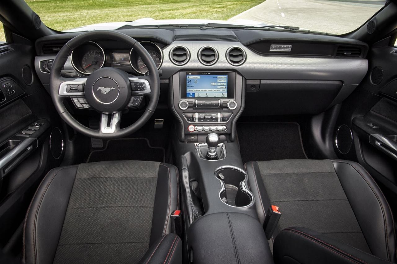 2016 ford mustang revealed introduces special option