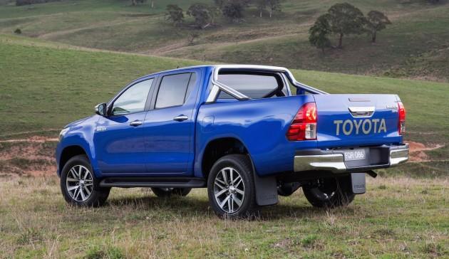 2016 Toyota HiLux SR5-rear