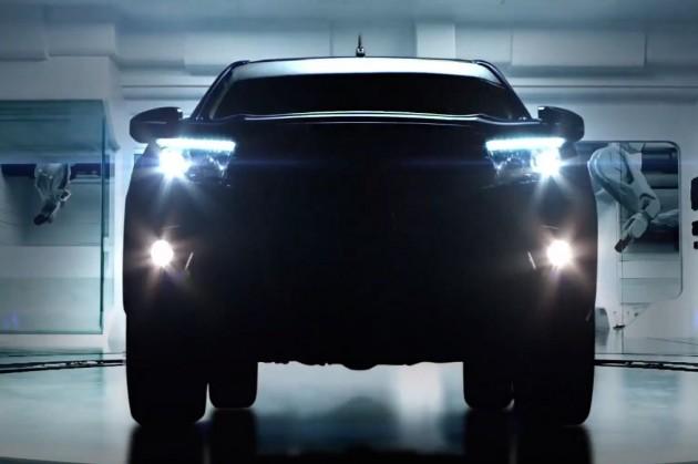 2016 Toyota HiLux headlights