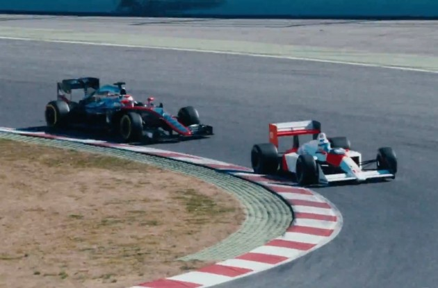 Alonso-Senna-McLaren MP4-4
