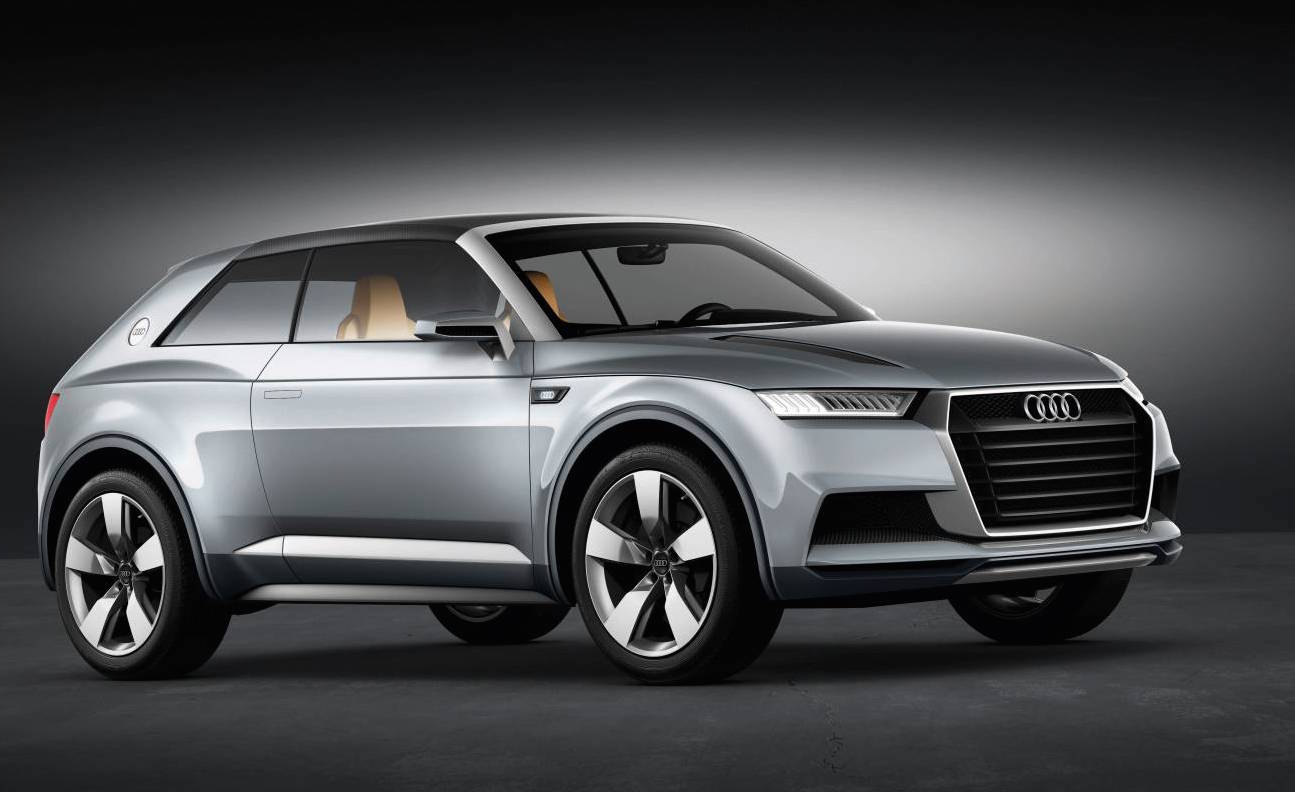 audi working on coupe version of q1 compact suv report performancedrive. Black Bedroom Furniture Sets. Home Design Ideas