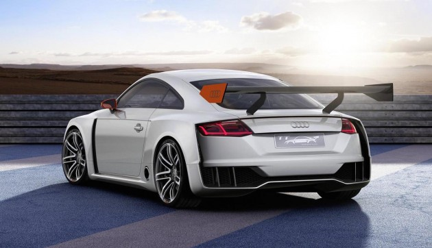 Audi TT Clubsport Turbo concept-rear