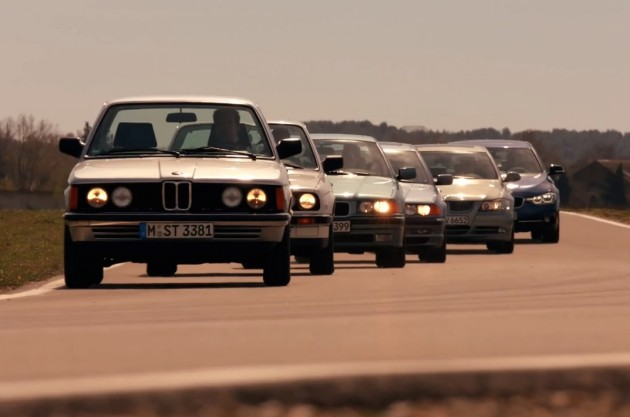 BMW 3 Series generations