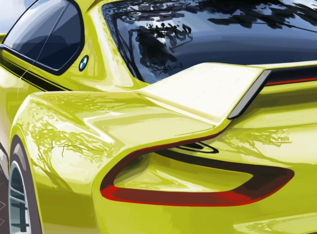 BMW 3.0 CSL Hommage concept preview