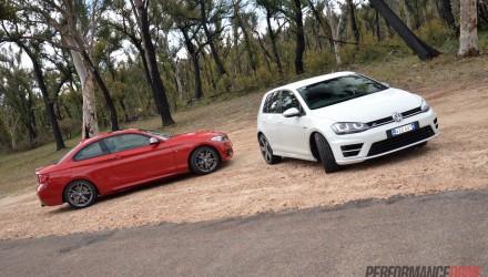 BMW M235i vs Volkswagen Golf R-