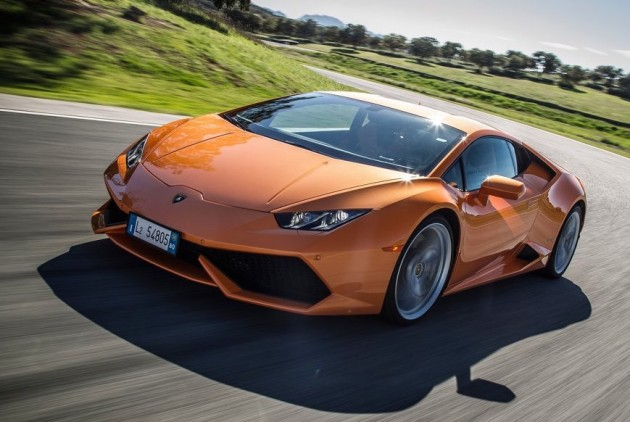 Lamborghini Huracan-orange