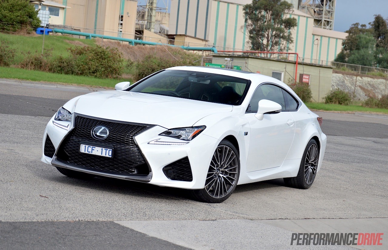 2015 lexus rc f review video performancedrive. Black Bedroom Furniture Sets. Home Design Ideas