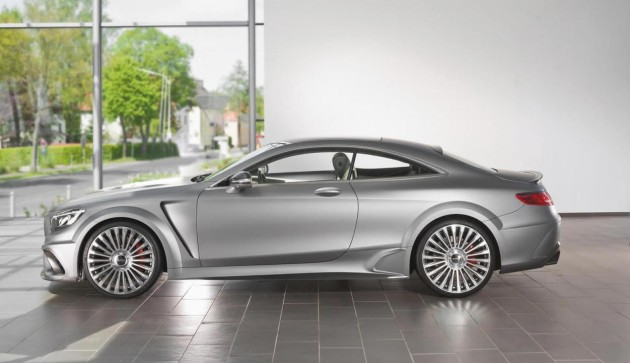 Mansory Mercedes-Benz S 63 AMG Coupe-bodykit