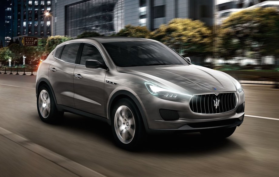 maserati levante suv set to debut at 2016 detroit show performancedrive. Black Bedroom Furniture Sets. Home Design Ideas