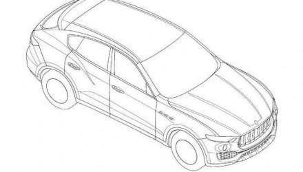 Maserati Levante patent