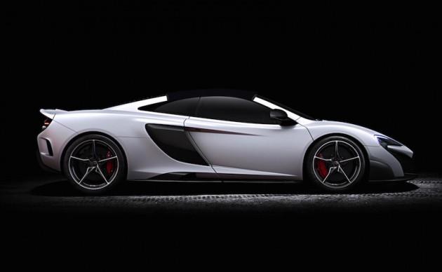McLaren 675LT Spider-render